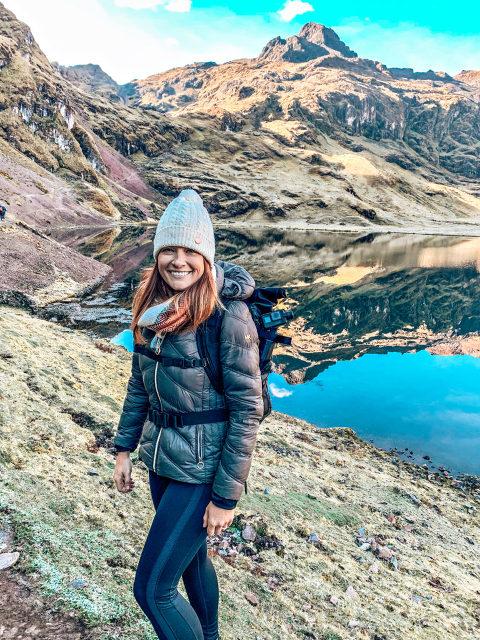 mirror lake in Peru